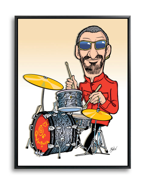 Ringo Starr, Limited Edition Print