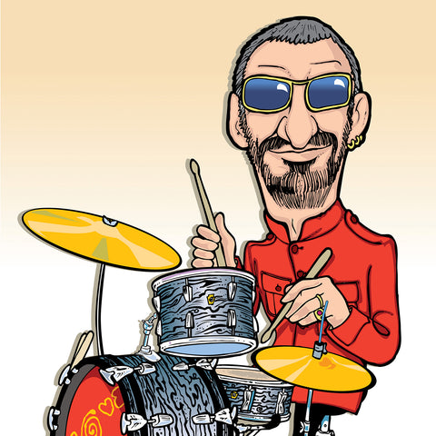 Ringo Starr by Anthony Parisi, Limited Edition Print