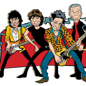 Rolling Stones by Anthony Parisi, Limited Edition Print