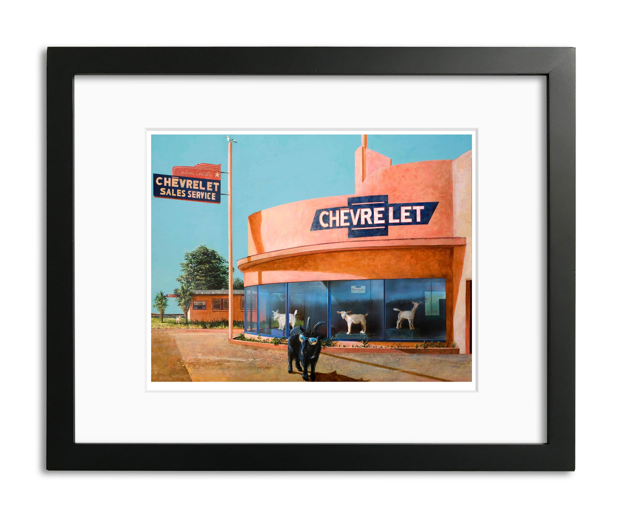 See The USA by Bruce Burr, Limited Edition Print