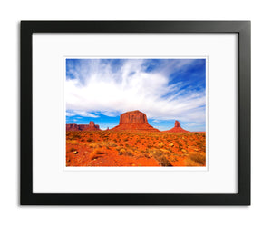 Sentinel, Mesa Monument Valley, Arizona, by Robert Ross