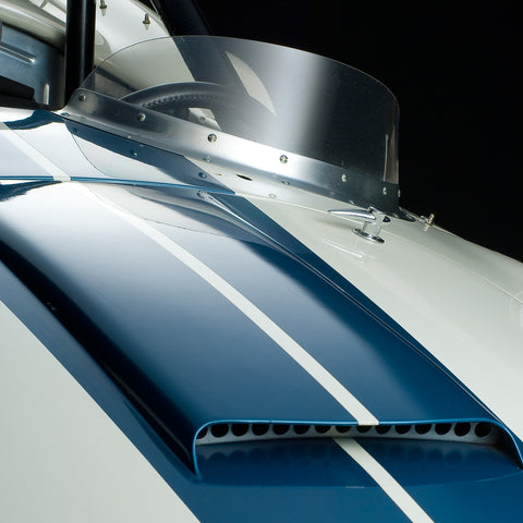 Shelby Cobra CSX 2226 Hood Detail by Boyd Jaynes