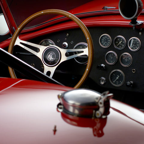 Shelby Cobra CSX 2430 Dashboard Detail by Boyd Jaynes, Limited Edition Print