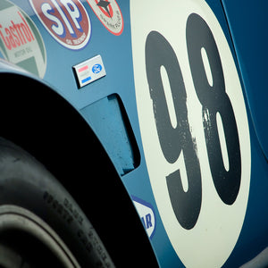 Shelby Cobra CSX 2431 Side Detail by Boyd Jaynes, Limited Edition Print