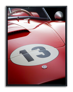 Shelby Cobra CSX 2345 Hood Detail by Boyd Jaynes