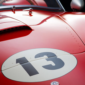 Shelby Cobra CSX 2345 Hood Detail by Boyd Jaynes, Limited Edition Print