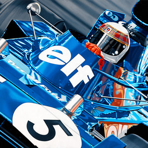 Jackie Stewart, Sir Jackie by Colin Carter
