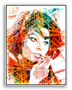 Sophia Loren, 'Sophia' by Harry Taylor, Limited Edition Print