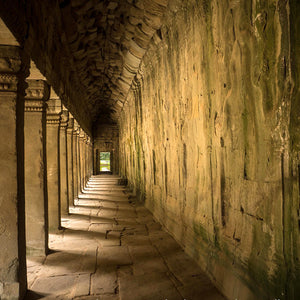 Stillness, Angkor Wat, Cambodia, by Robert Ross