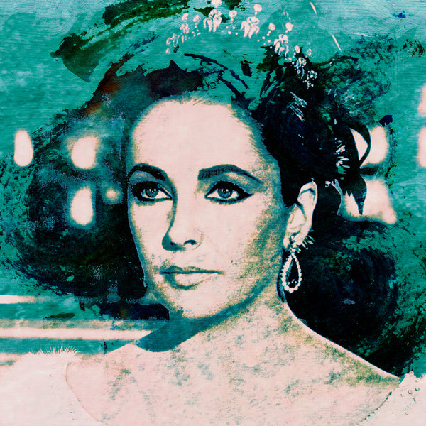 Elizabeth Taylor, 'The Queen' by Harry Taylor, Limited Edition Print