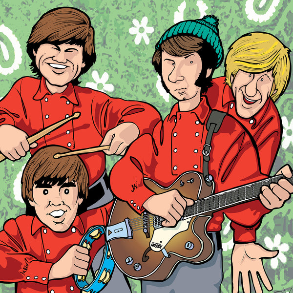 The Monkees by Anthony Parisi, Limited Edition Print