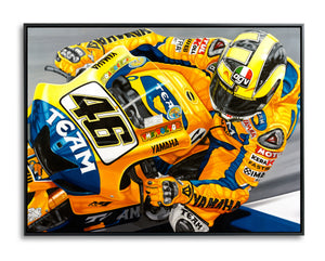 Valentino Rossi, The Peoples Champion by Colin Carter