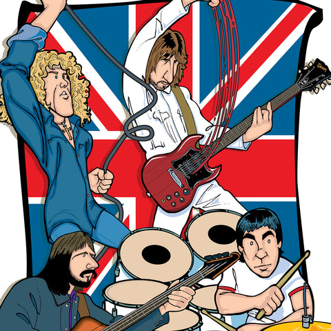 The Who by Anthony Parisi, Limited Edition Print