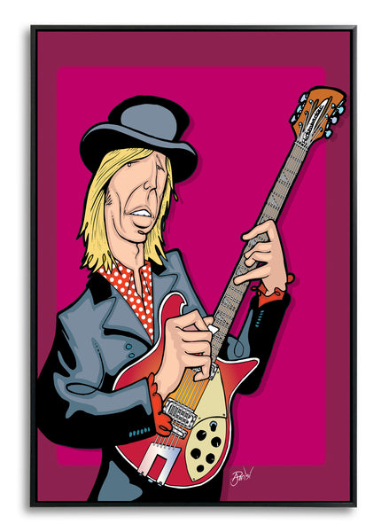 Tom Petty by Anthony Parisi, Limited Edition Print