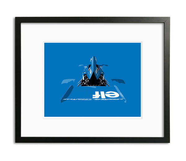 Tyrrell 005 by Ricardo Santos, Limited Edition Print