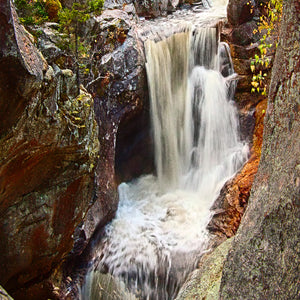 Waterfall Panoramic No.2 by Al Gerk