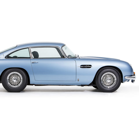 Aston Martin DB5 1965, Side View by Pawel Litwinski