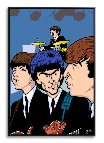 Beatles Sullivan Show by Anthony Parisi, Limited Edition Print