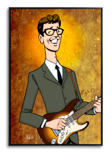 Buddy Holly by Anthony Parisi, Limited Edition Print