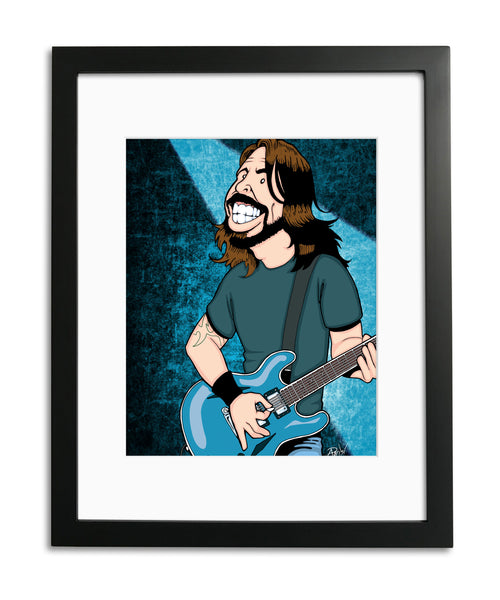 Dave Grohl by Anthony Parisi, Limited Edition Print