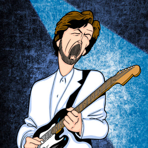 Eric Clapton by Anthony Parisi, Limited Edition Print