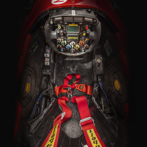 'Schumacher's Office' The Ferrari F2001 Cockpit, by Pawel Litwinski