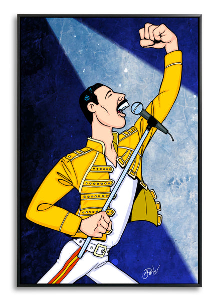 Freddie Mercury by Anthony Parisi, Limited Edition Print
