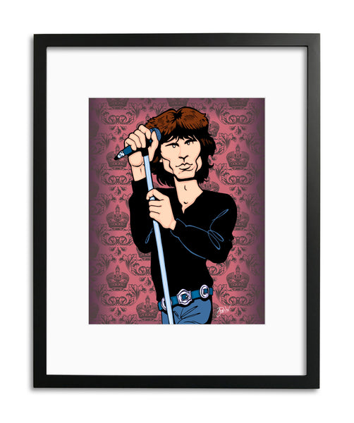 Jim Morrison by Anthony Parisi, Limited Edition Print