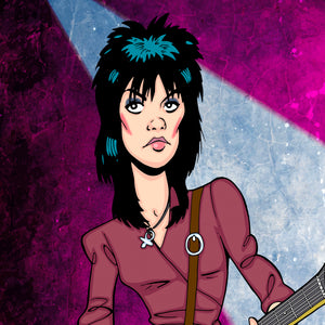 Joan Jett by Anthony Parisi, Limited Edition Print