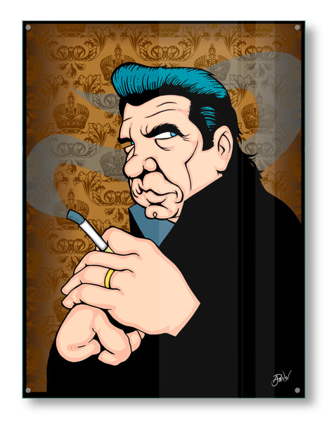 Johnny Cash by Anthony Parisi, Limited Edition Print