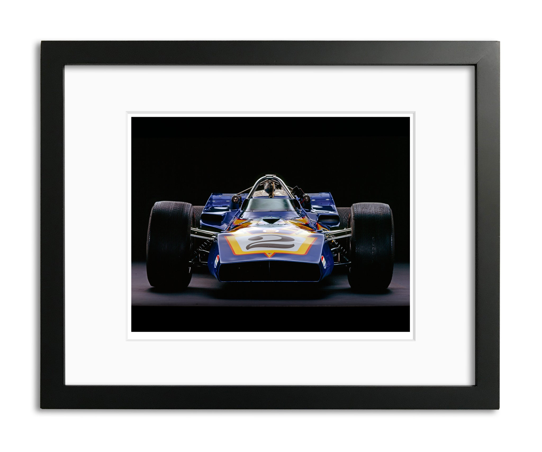 Parnelli Jones, Johnny Lightning, Front View by Rick Graves