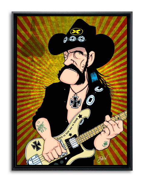 Lemmy by Anthony Parisi, Limited Edition Print