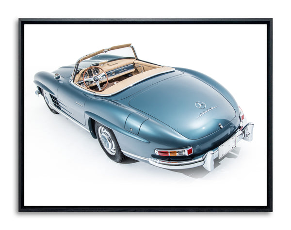 Mercedes Benz 300SL 1957 Roadster, Rear View by Pawel Litwinski