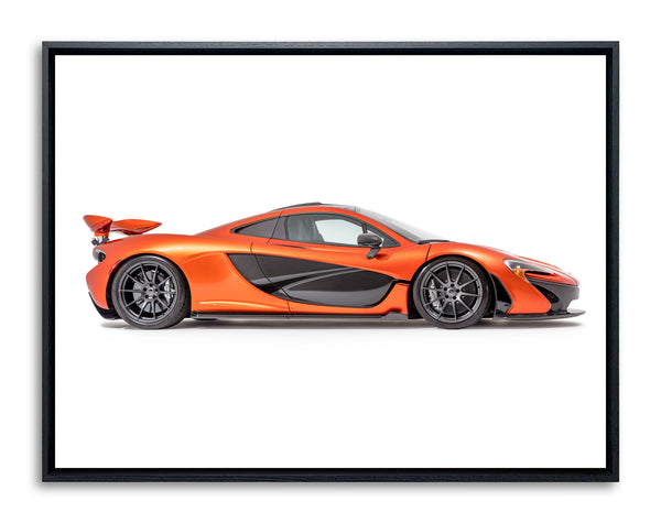 McLaren P1 2014, Side View by Pawel Litwinski