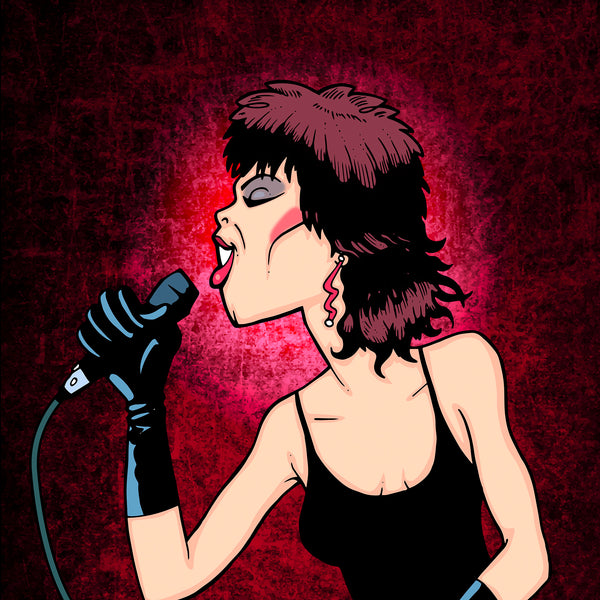 Pat Benatar by Anthony Parisi, Limited Edition Print