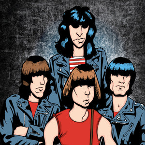 Ramones by Anthony Parisi, Limited Edition Print