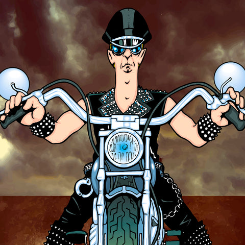 Rob Halford by Anthony Parisi, Limited Edition Print