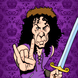 Ronnie James Dio by Anthony Parisi, Limited Edition Print