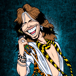 Steven Tyler by Anthony Parisi, Limited Edition Print