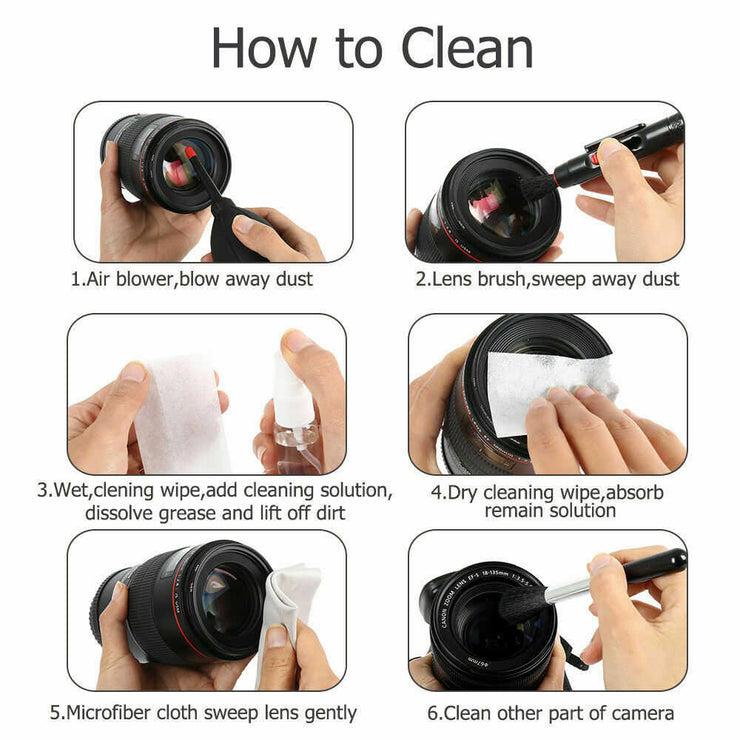 12 In 1 Optics Cleaning Kit