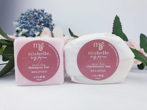 NORMAL HAIR BELOVED SHAMPOO AND CONDITIONER BAR