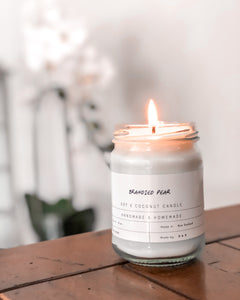 Brandied Pear - Soy Candle