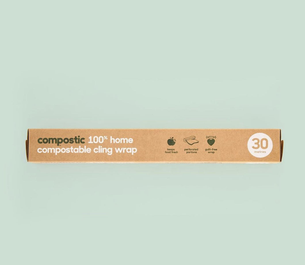 Compostable Cling Wraps 30m. by Compostic