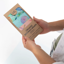 Load image into Gallery viewer, Reusable Organics Beeswax Wraps by Caliwoods