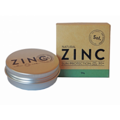 Natural Zinc Sunscreen SPF30 by Sol Zinc