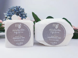 FINE HAIR COCOLIME SHAMPOO AND CONDITIONER BAR