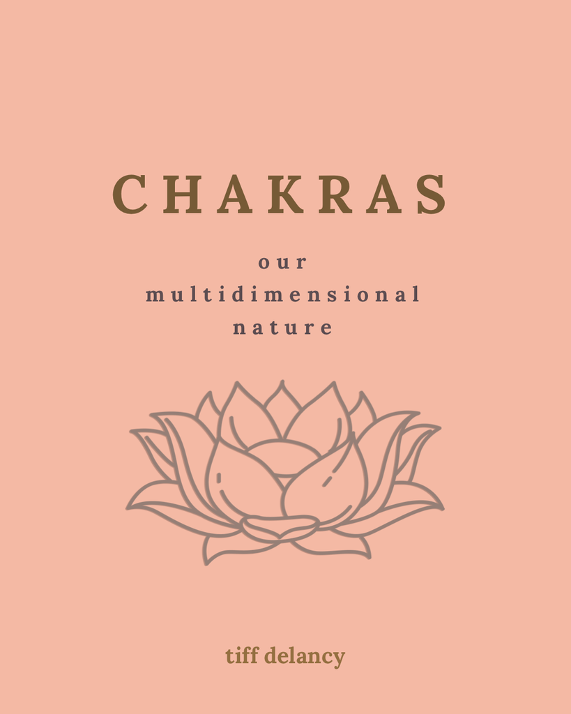 chakras : our multidimensional nature  (ebook by tiff delancy)