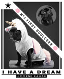 "t-shirt Licorne ""I have a dream"""