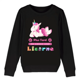 Sweat Licorne Enfant BIO