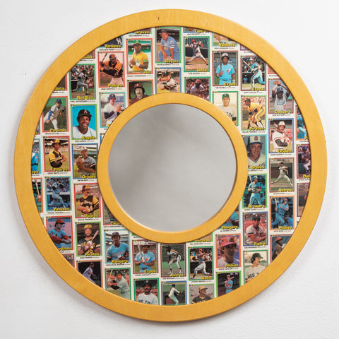 1981 Donruss Baseball Cards • Mirror Frame
